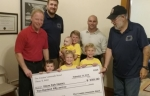 Five Kids With Skin in the Game Donates Lemonade Stand Money to Dixon Splash Pad