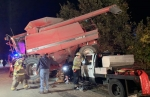 One Person Injured After Collision With Combine