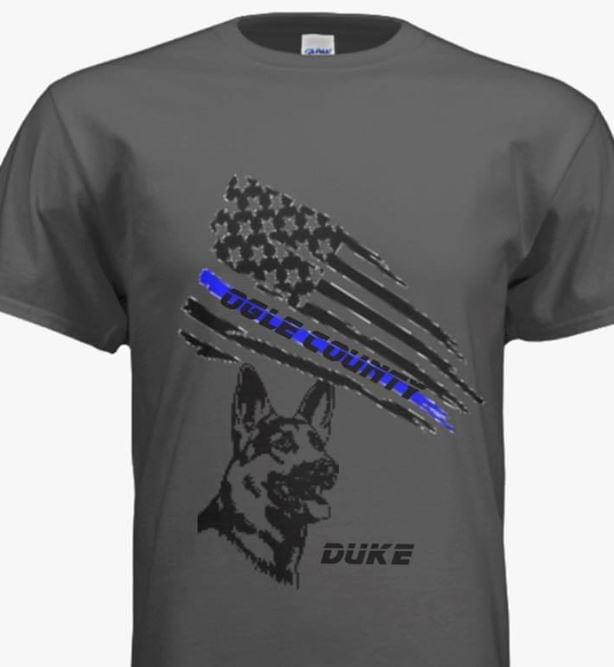 Ogle County Sheriff Duke t-shirt