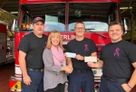 Sterling Fire Fighters Help Raise Over $2,000 for Breast Cancer Awareness Month