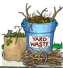 Yard Waste Collection Begins April 1st in Sterling