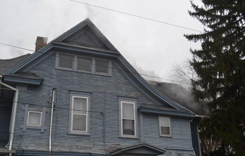 Dixon Fire Fighters Battle Attic Fire Friday Afternoon