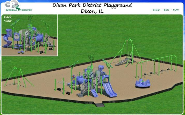 Dixon Park Playground drawing