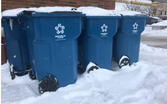 Weather Puts Garbage Pickup Behind, Say Put Totes Out Anyway