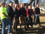 A Great Deal of Excitement as Ground in Broken for Construction of Water Wonderland