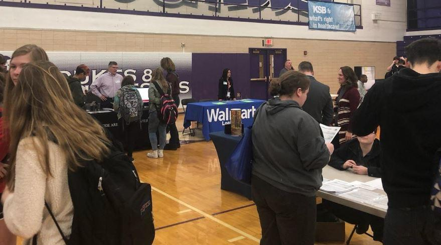 Dixon High School Job Fair