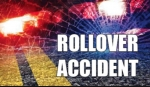 One Person Injured in Roll-over Accident