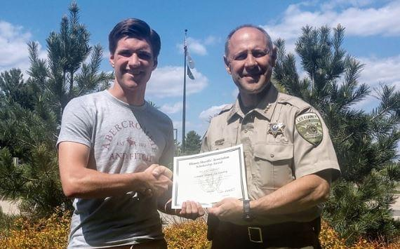 Lee County Sheriff Presents Scholarships to Help With Education