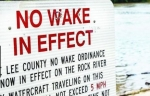 No Wake Ordinance In Effect on Rock River in Lee and Ogle Counties