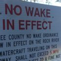 No Wake in Effect in Lee County on Rock River