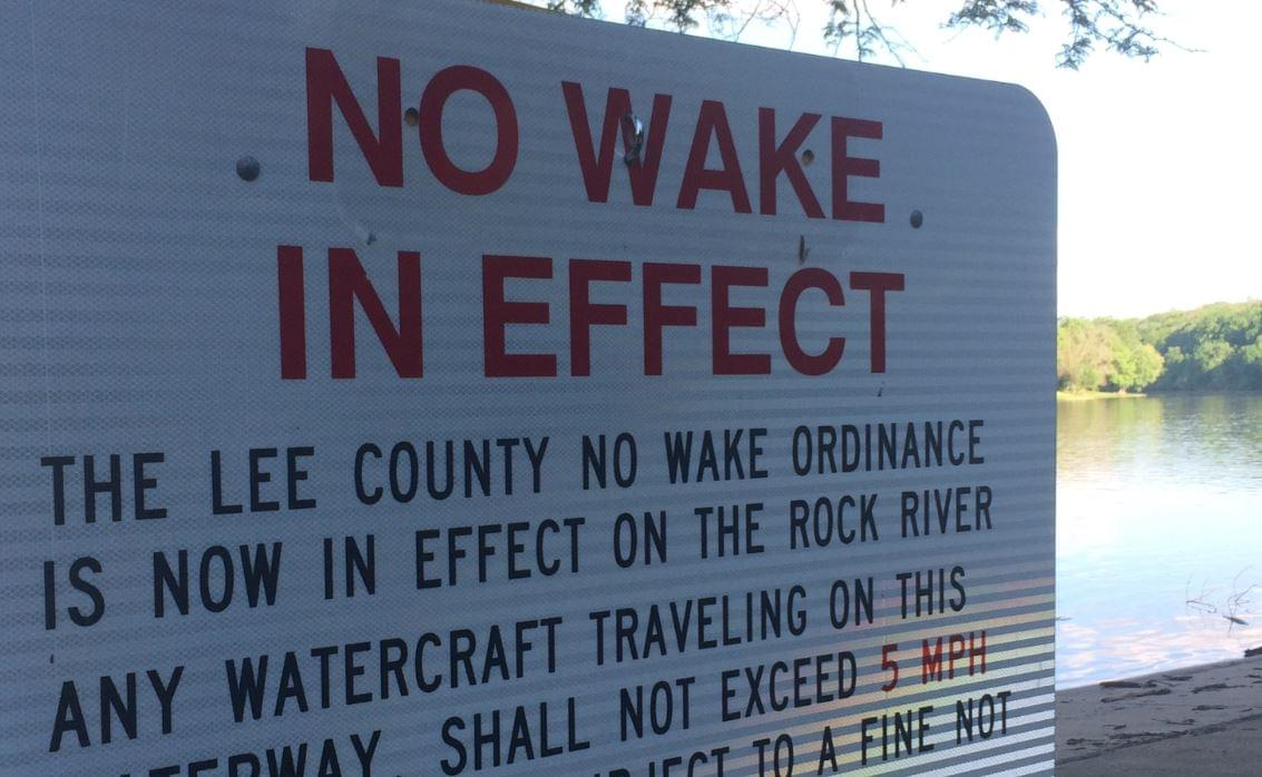 No Wake Ordinance Lifted for Lee County, Will Be Lifted in Ogle County Thursday