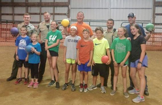Lee County Sheriff Dodgeball