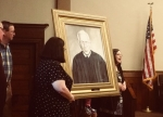Former Courtroom in Old Lee County Courthouse Renamed in Honor of Long Time Judge