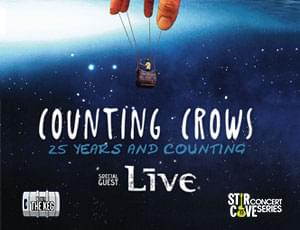 Counting Crows with special guest LIVE