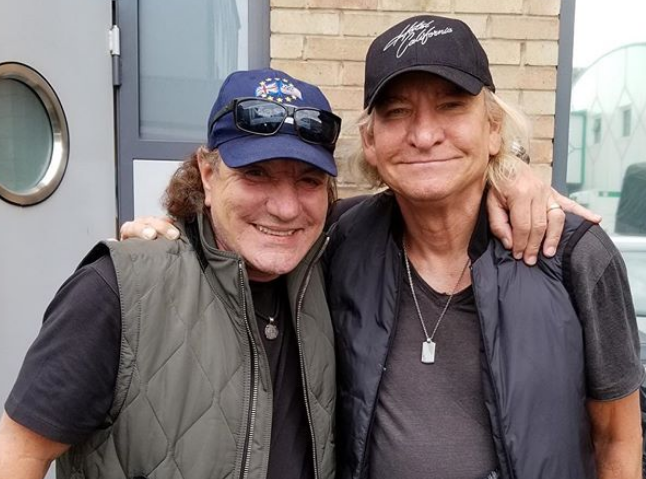 AC/DC's Brian Johnson and Eagles Joe Walsh Jam To New Song