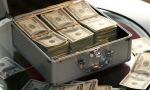 $30,000 in Cash Spilled off the Back of a Truck in Michigan