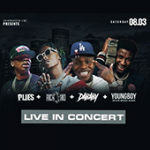 Plies, Rich The Kid, Dababy, and NBA Youngboy