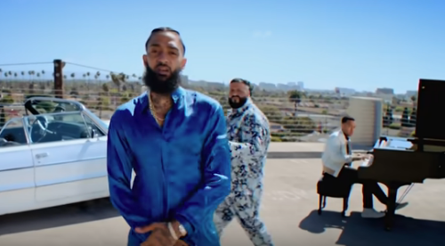 Nipsey Hussle & DJ Khaled Continue The Marathon In A Higher Place