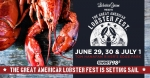 The Great American Lobster Fest at Tom Hanafan River's Edge Park