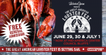 The Great American Lobster Fest NOW at Mid-America Center in Council Bluffs!