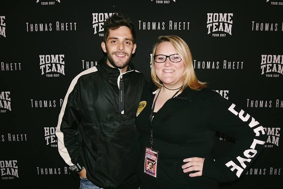 Kori and Thomas Rhett