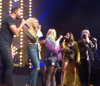 """Lean on Me"" performed by Little Big Town and Miranda Lambert"