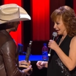 Dustin Lynch Gets Inducted Into The Opry By Reba McEntire