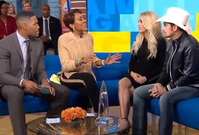 Carrie and Brad on GMA Day