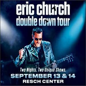 Eric Church Green Bay 2019