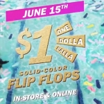 Get Your Flippy Flops This Saturday