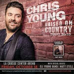 Chris Young Raised On Country Tour 2019