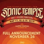 Innagural Sonic Temple Festival Books Foo Fighters, System of a Down, Disturbed, and More!