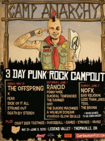 Punk Rock Summer Camp is a Thing