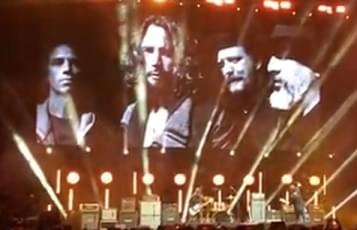 Video Footage of Chris Cornell Tribute Concert
