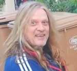 Sebastian Bach Cleaning a Mirror is My Favorite Thing Today [Video]