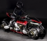 Motorcycle Transforms into a Flying Quadcopter in 60 Seconds