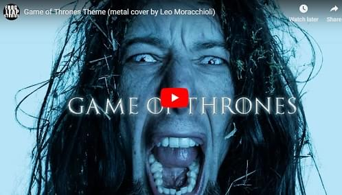 Metal Game of Thrones Theme