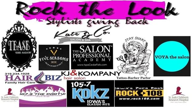 Rock The Look 2018.  Saturday, September 22!