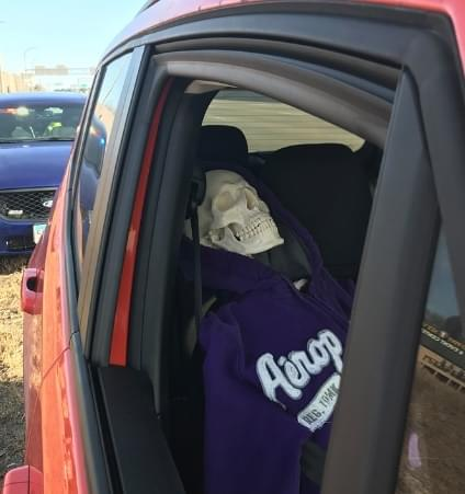 Carpool Skeleton