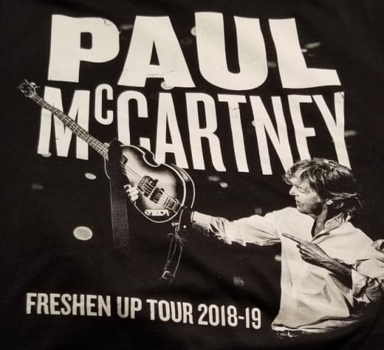 "My ""Ticket To Ride"" to see Sir Paul McCartney"