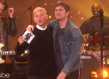 Rob Thomas Performed New Song On Ellen