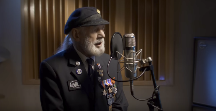 Man That Was Only 15 On D-Day Wrote a Song and It's AWESOME – Just Like Him