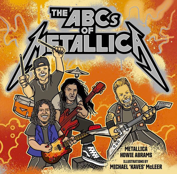 Metallica Is Publishing an Illustrated Children's Book
