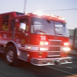 Factory Fire Closes Down Streets In Lake Geneva