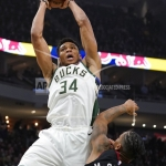 Milwaukee's Giannis Named Eastern Conference Player of the Week