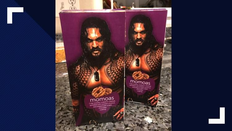 Girl Scout Sells 'Momoas' Featuring Shirtless Jason Momoa