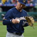 Brewers Ride 4-Run First Inning to Rain-Shortened 5-3 Win at St. Louis
