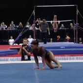 Simone Biles Nailes Her Weekend Floor Routine