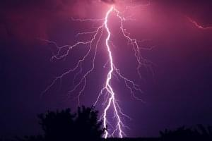 Lightning strike disables tornado warning sirens throughout Marion County