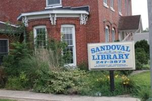 Sandoval Village Board hears update on library and demolition projects
